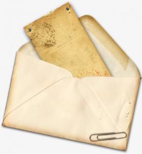 ฝันเห็นจดหมาย