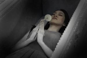 ฝันเห็นศพมัดตราสังข์